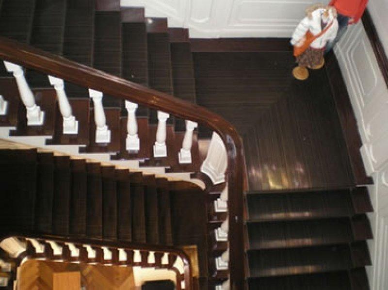 Tapijt voor trappenhuis trap bekleden met trapbekleding smit